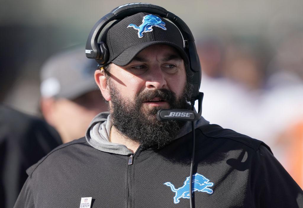 Lions head coach Matt Patricia
