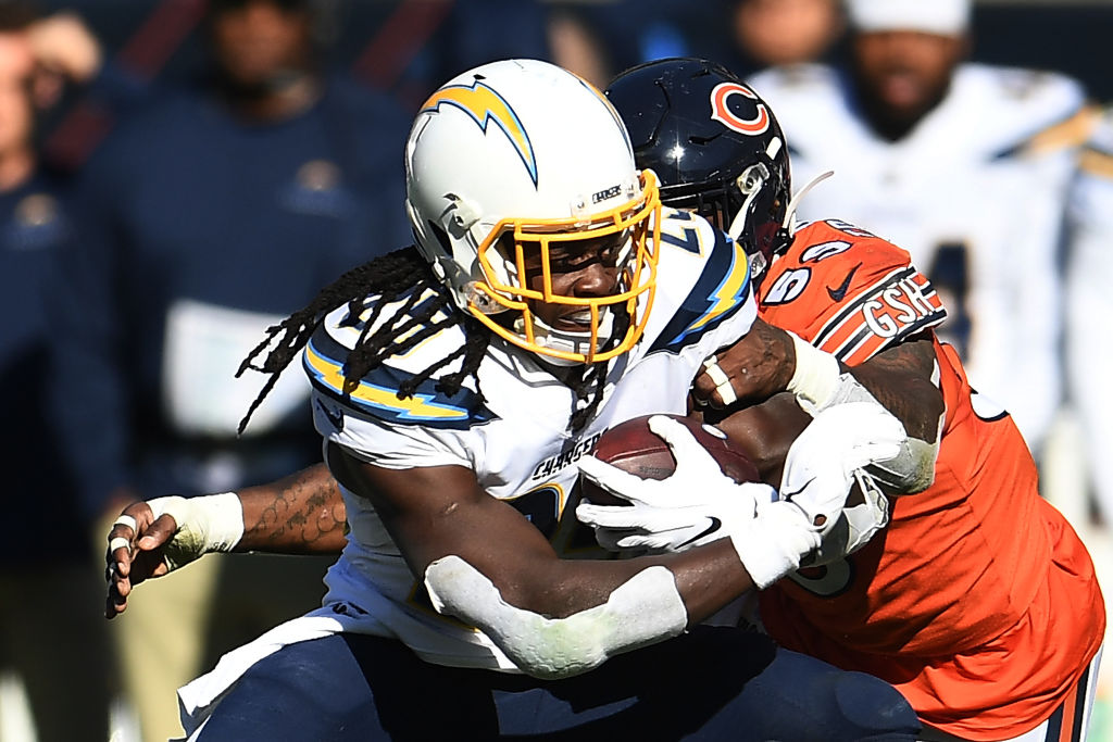 Despite his struggles, Chargers running back Melvin Gordon could have a big day on Sunday.