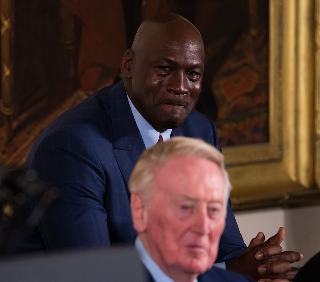 Michael Jordan wept when he entered the Hall of Fame, and he did it again when he funded and opened a medical clinic in Charlotte, N.C.