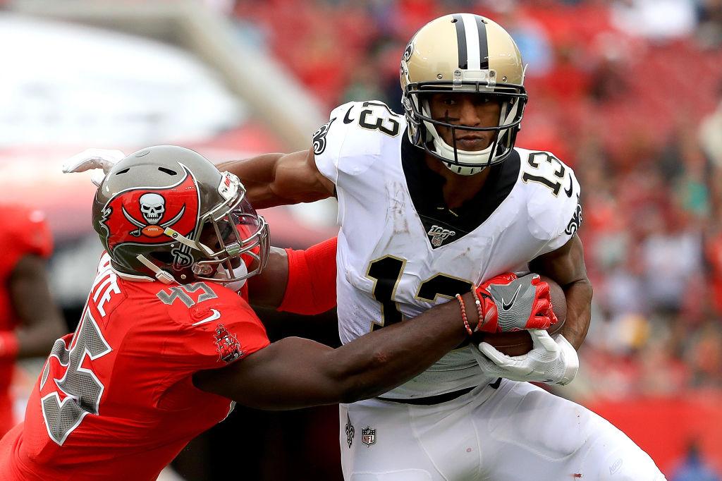 Saints wide receiver Michael Thomas