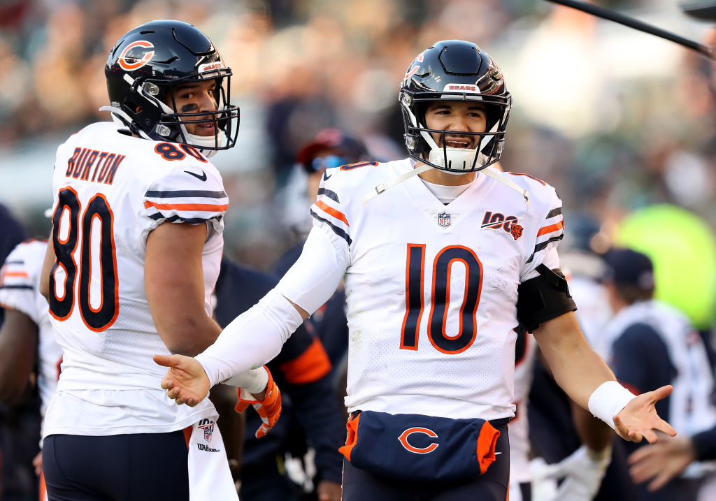 One action signifies that Mitchell Trubisky isn't quite cut out to be an NFL quarterback.