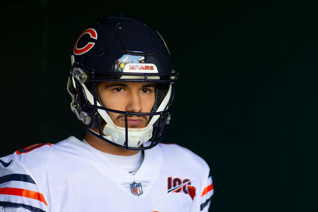 Bears quarterback Mitchell Trubisky