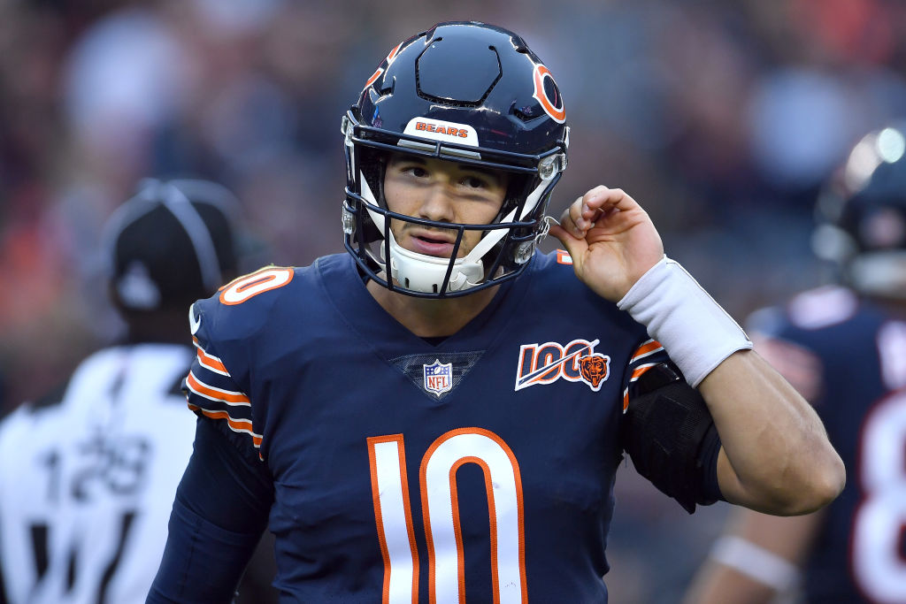 Mitchell Trubisky might not be the person to solve the Bears' quarterback issues.