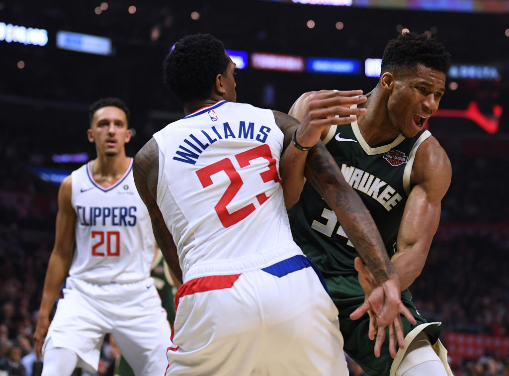 NBA general managers believe it's basically a two-team race to the Finals -- Clippers and Bucks.