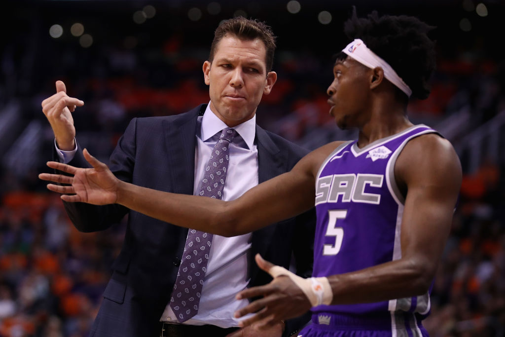 The Kings Luke Walton could be the first NBA coach to be fired during the 2019-20 season.