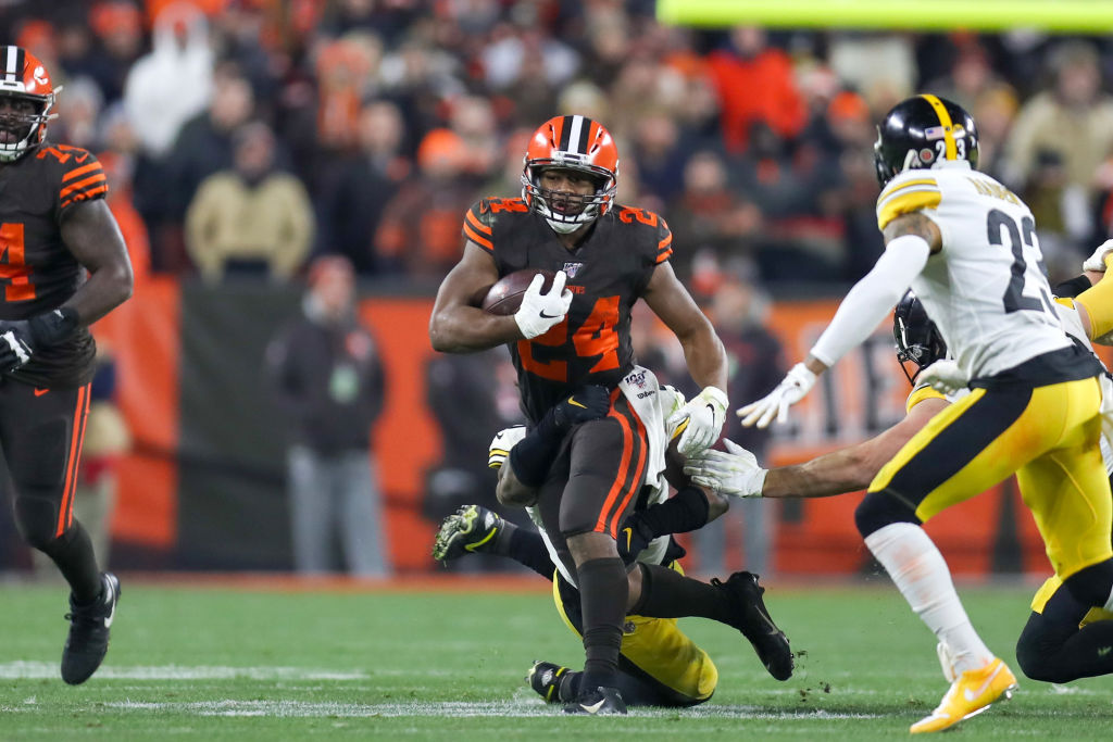 Browns running back Nick Chubb might be the most underrated player in the NFL in 2019.