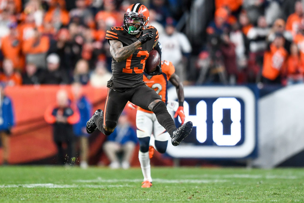 Cleveland Browns receivers Odell Beckham, Jr. and Jarvis Landry wore unacceptable cleats against the Denver Broncos.