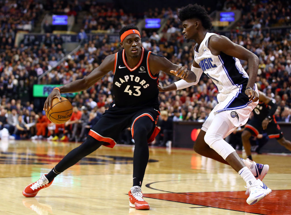 Pascal Siakam has developed into an NBA star with the Toronto Raptors.