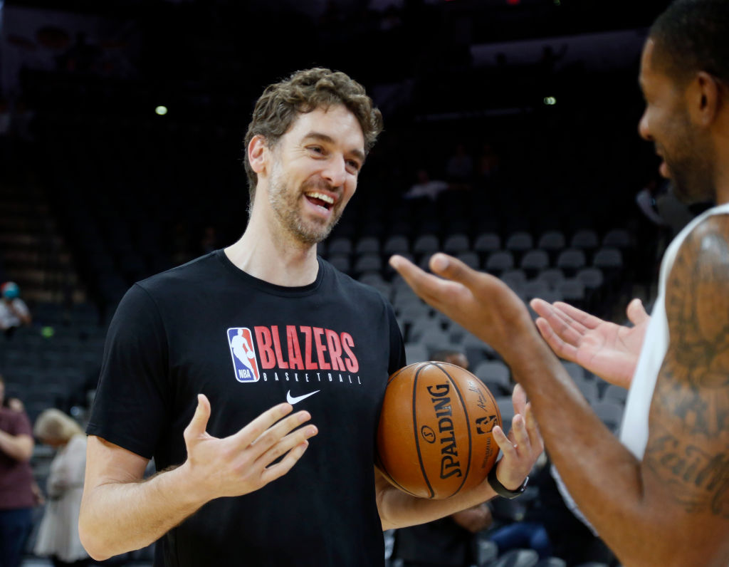 Portland Trailblazers big man Pau Gasol thinks the modern NBA has lost it's beauty.