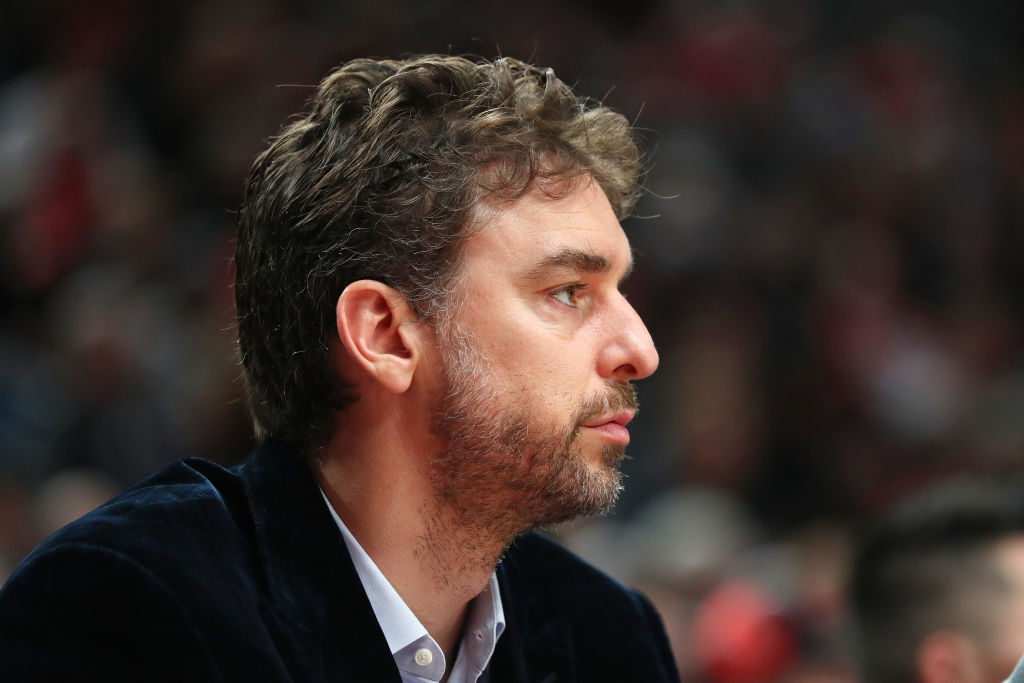 Pau Gasol has had a positive impact on the Trail Blazers despite being unable to play
