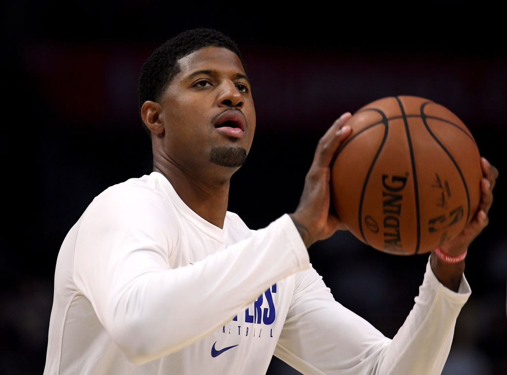 Clippers forward Paul George