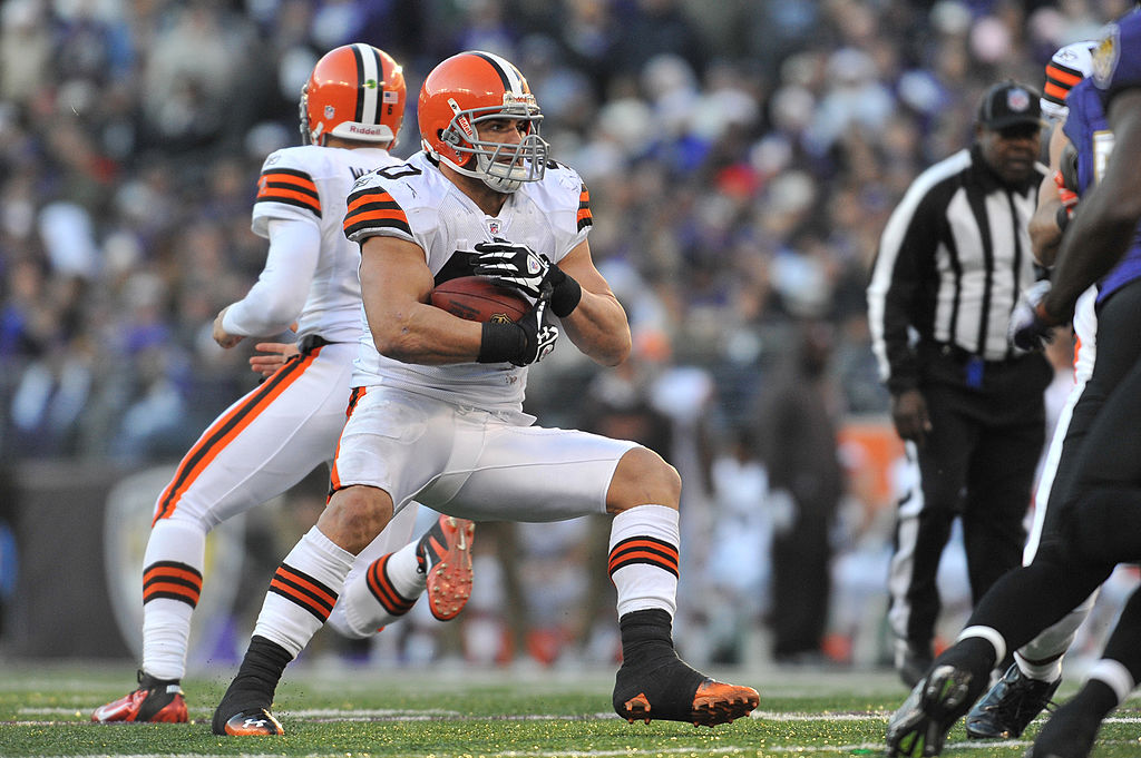 What happened to Peyton Hillis after his time with the Cleveland Browns?