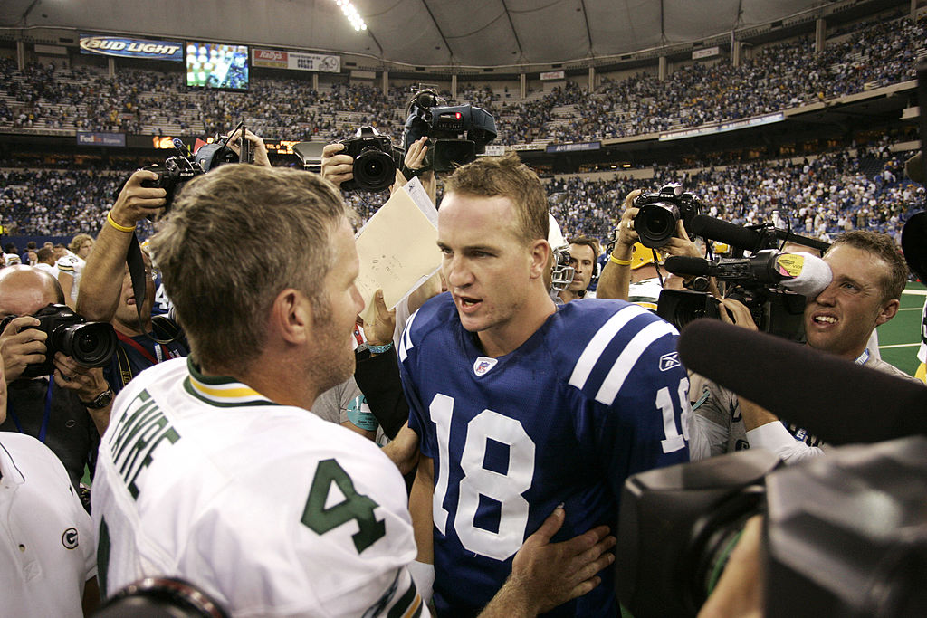 Brett Favre and Peyton Manning are two of the all-time greats, but both have also thrown six interceptions in a single game