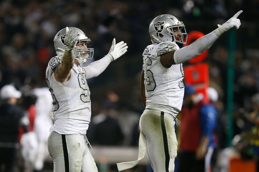 Maxx Crosby (left) and Clelin Ferrell are two of several rookies helping prove the Raiders 2019 draft was one of the best in the NFL.