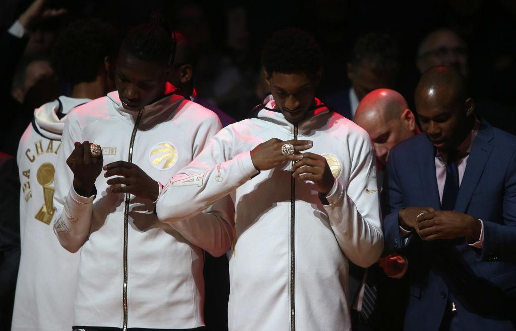 The Toronto Raptors' NBA championship rings put the rest to shame.
