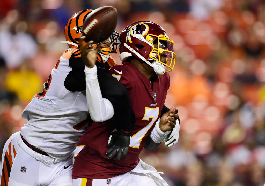 The Redskins proved they are totally dysfunctional with the way they handled the Trent Williams situation.