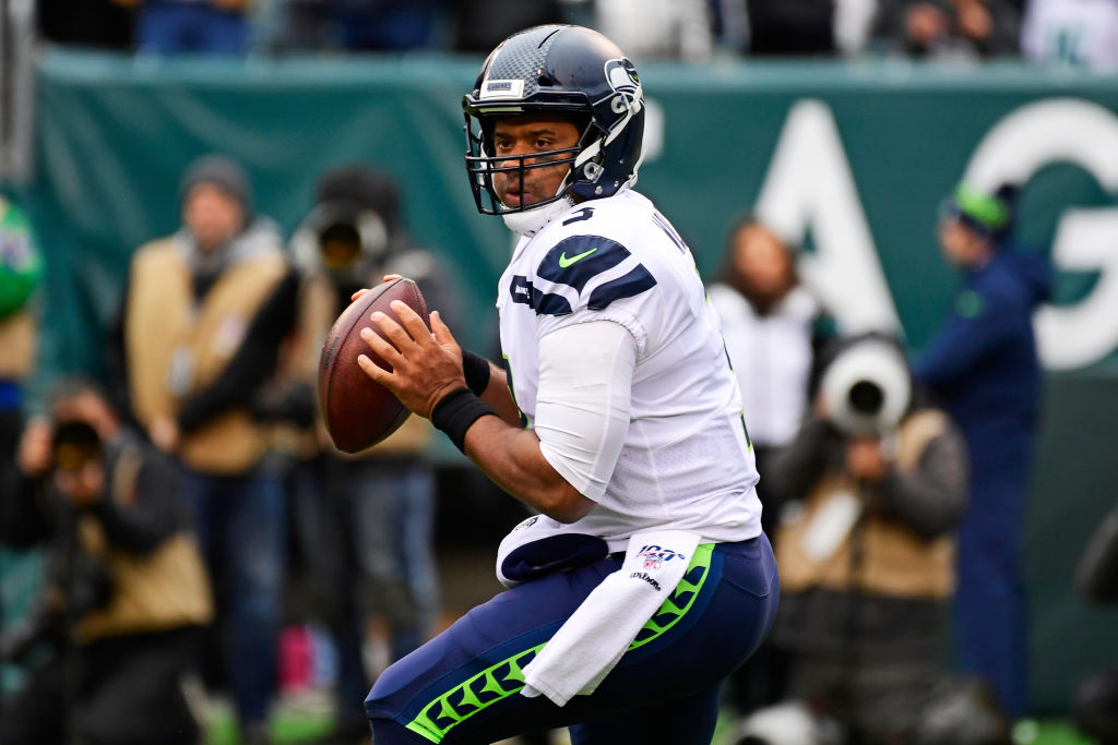 Seattle Seahawks quarterback Russell Wilson set a new NFL record on Sunday.