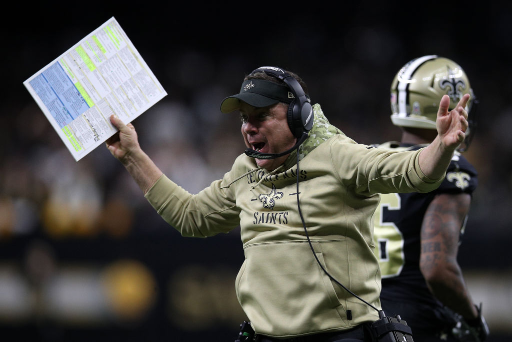 New Orleans Saints head coach Sean Payton weighed in on the NFL's pass interference review issues.