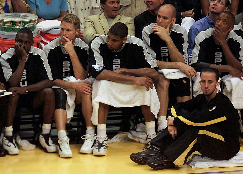 Steve Kerr played with Hall of Famers Michael Jordan and Tim Duncan, and both were drastically different experiences.