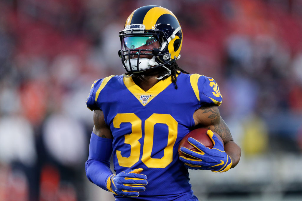 Rams running back Todd Gurley