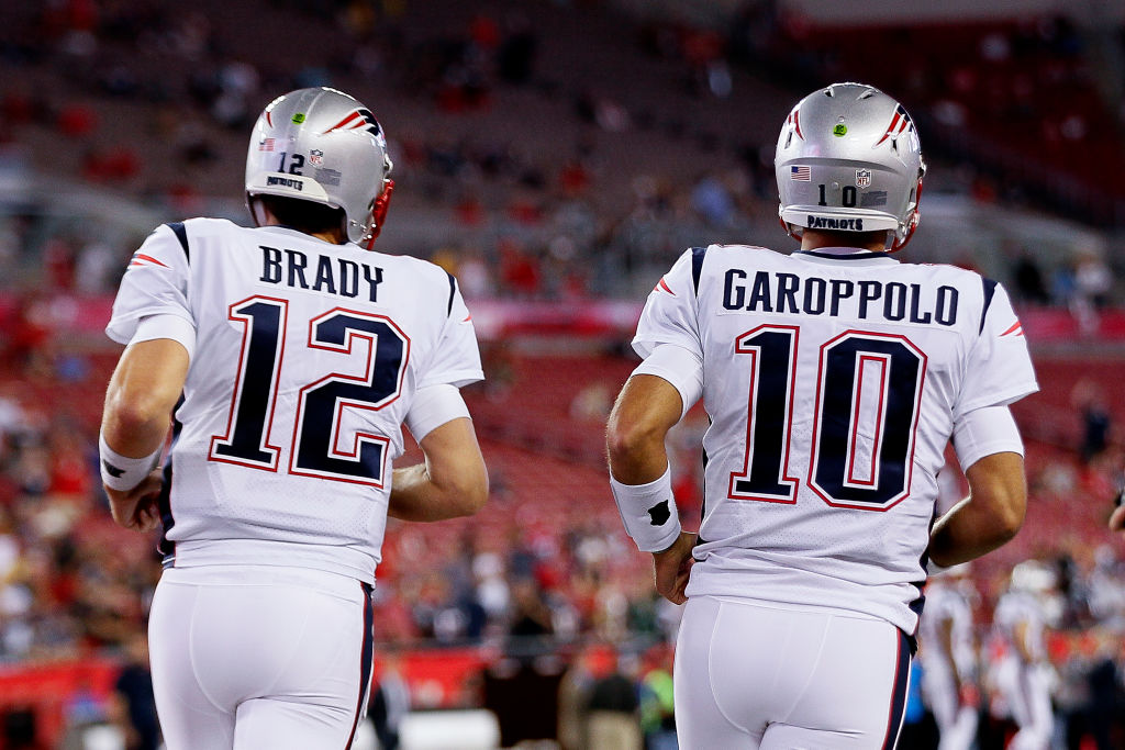 Former teammates Tom Brady and Jimmy Garoppolo could collide in Super Bowl LIV