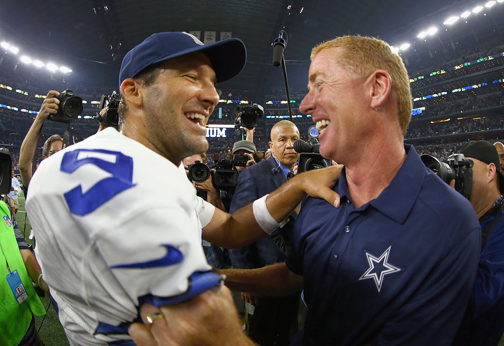 Tony Romo clearly loved football as a player, and he still does as a commentator