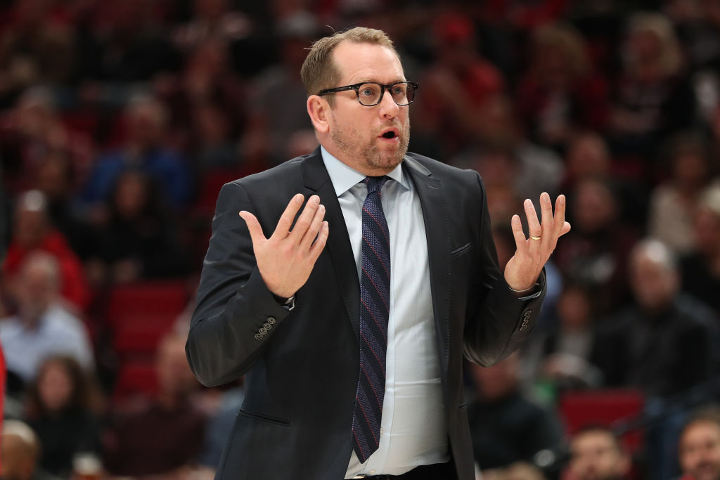 Nick Nurse led the Toronto Raptors to an NBA championship last season.
