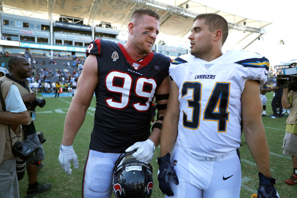 J.J. Watt and his two brothers are NFL standouts, as are both Bosa brothers, Joey and Nick.