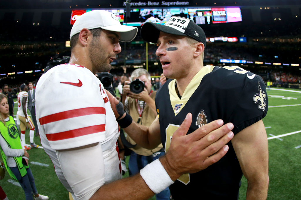 An admission by 49ers coach Kyle Shanahan made a possible Saints-49ers playoff matchup a little awkward.