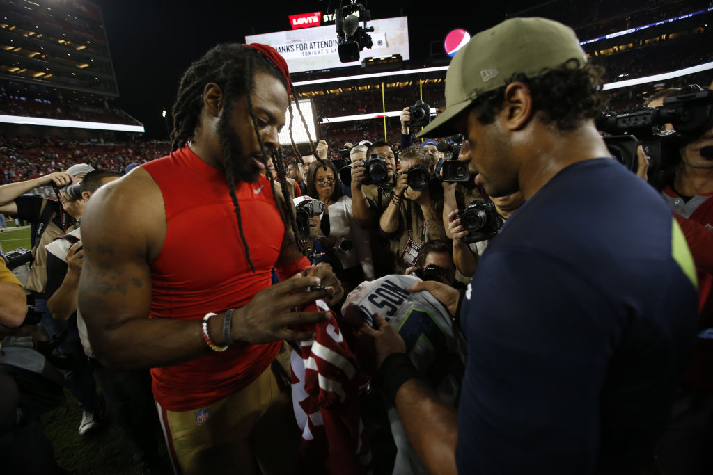 There's 'no love lost' when they're on the field, but the 49ers-Seahawks rivalry isn't as intense as you think.
