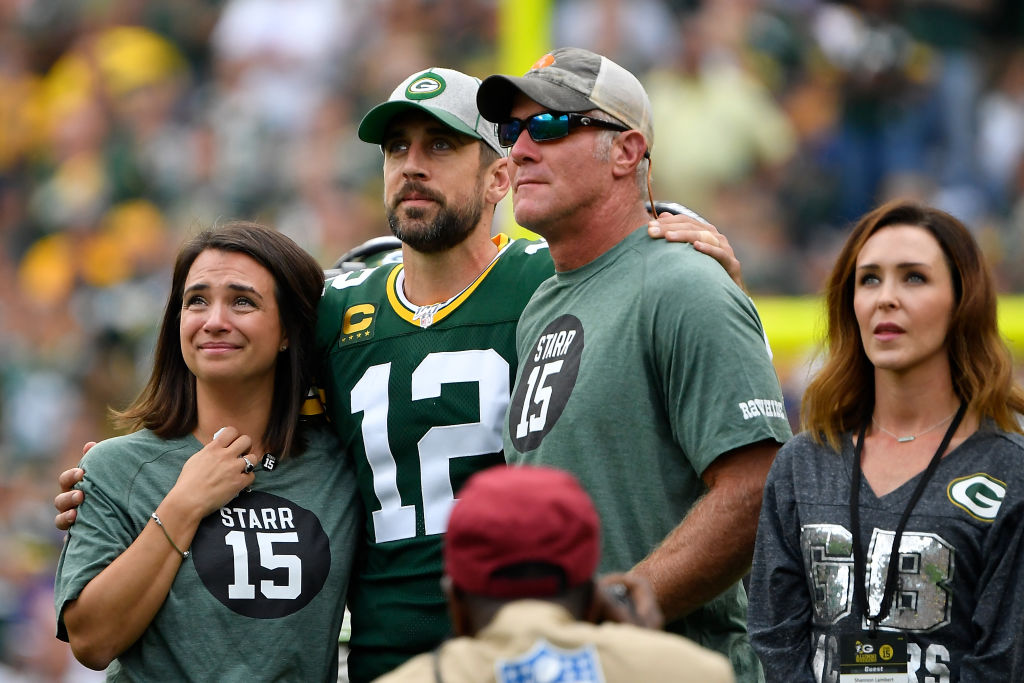 While they had a tense relationship on the field, Brett Favre and Aaron Rodgers now consider themselves friends.