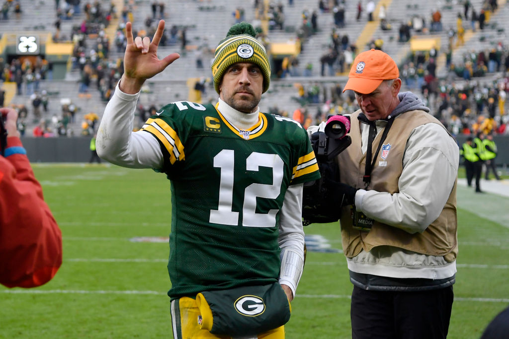 Green Bay Packers quarterback Aaron Rodgers has no desire to become a talking head on TV.