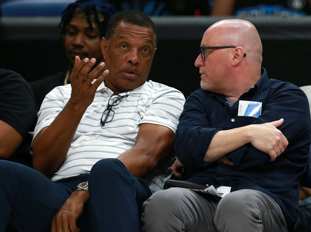 Alvin Gentry is the perfect coach to lead the New Orleans Pelicans' rebuild, according to team executive David Griffin (right).