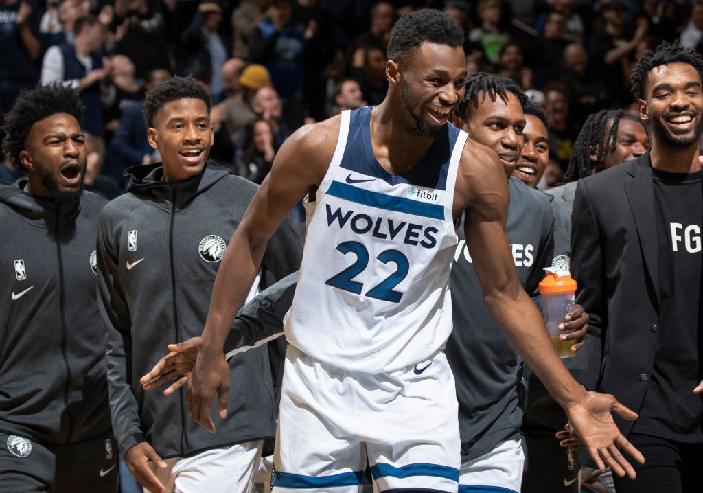 Andrew Wiggins is transforming into an NBA star with the Timberwolves in the 2019-20 season.