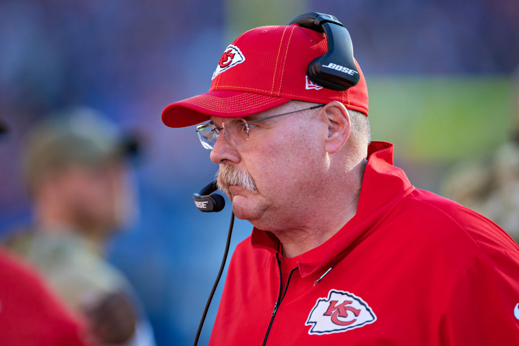 Kansas City Chiefs head coach Andy Reid generally wins coming off of the bye week.