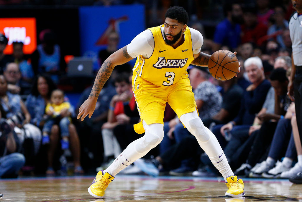 Anthony Davis just joined the Lakers in the summer, but he could already be on his way out.