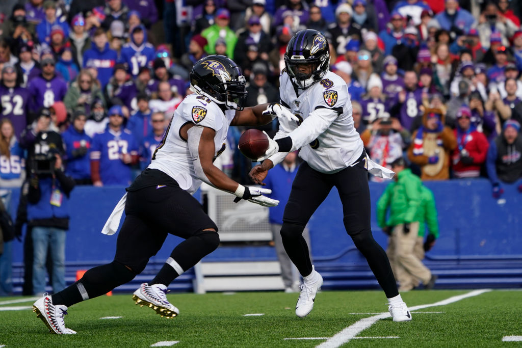 The Baltimore Ravens could set the NFL's all-time rushing record in Week 17.