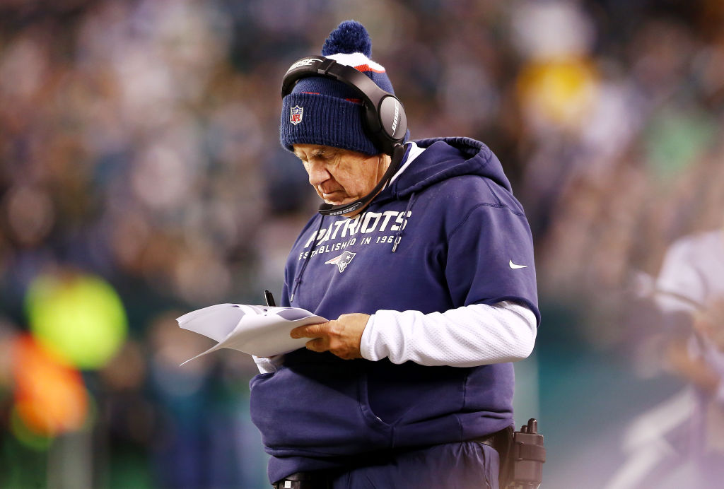 New England Patriots head coach is one of the best leaders in NFL history.