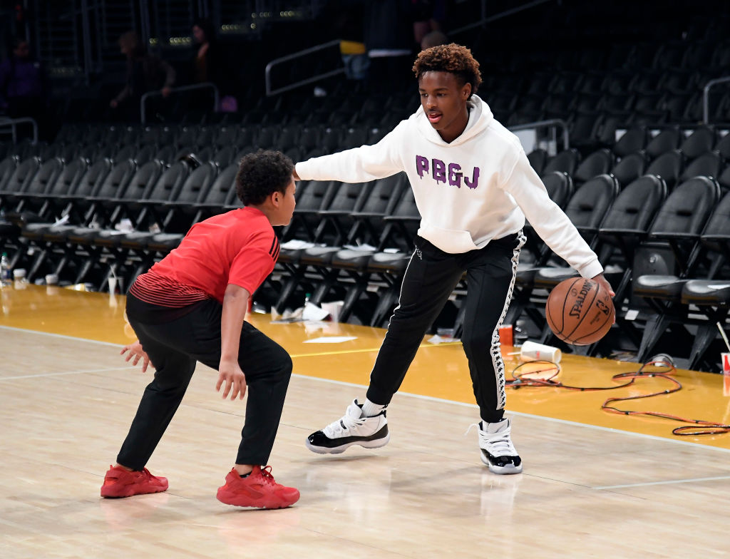 Will Bronny James develop into a better player than Lakers star LeBron James?