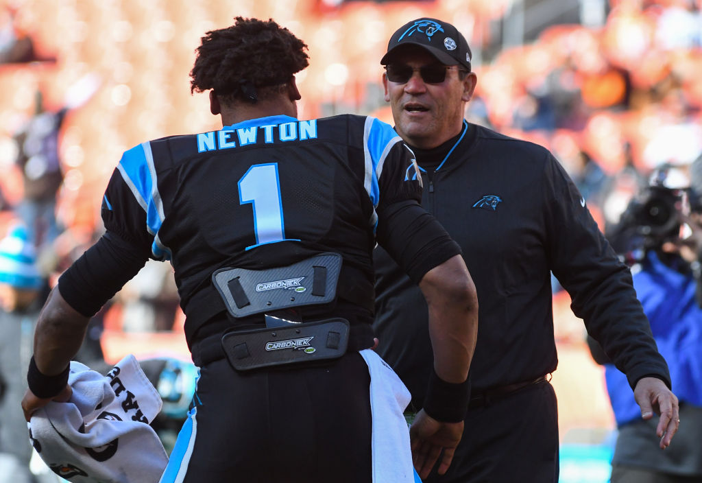 With Ron Rivera out, NFL fans are wondering if this could also be the end of the Cam Newton era in Carolina as well