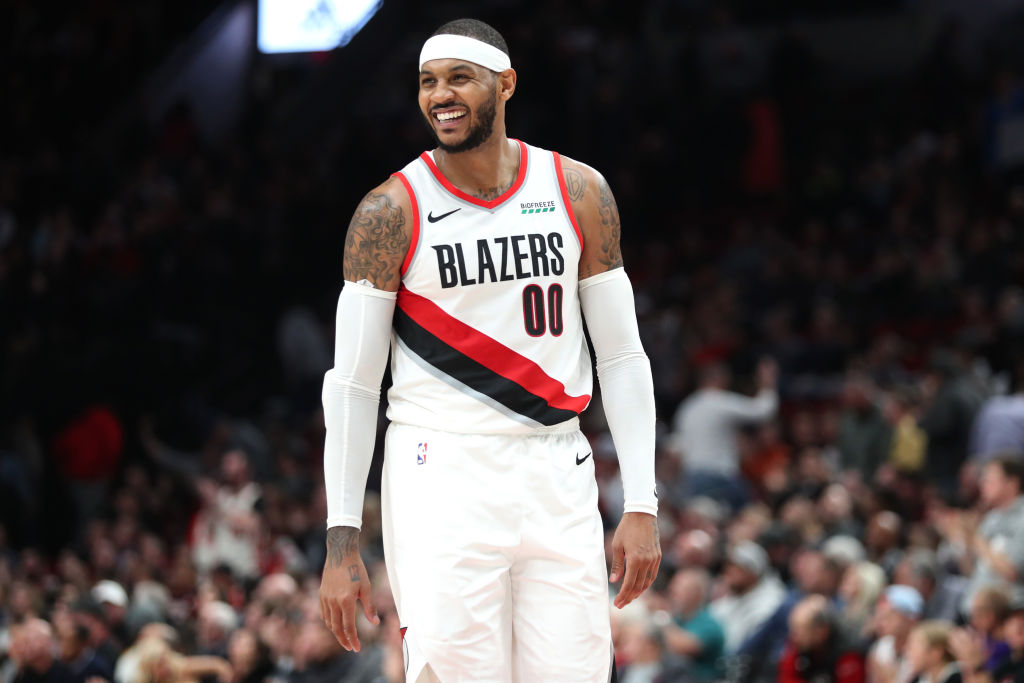 Carmelo Anthony is enjoying the latest chapter of his NBA career in Portland