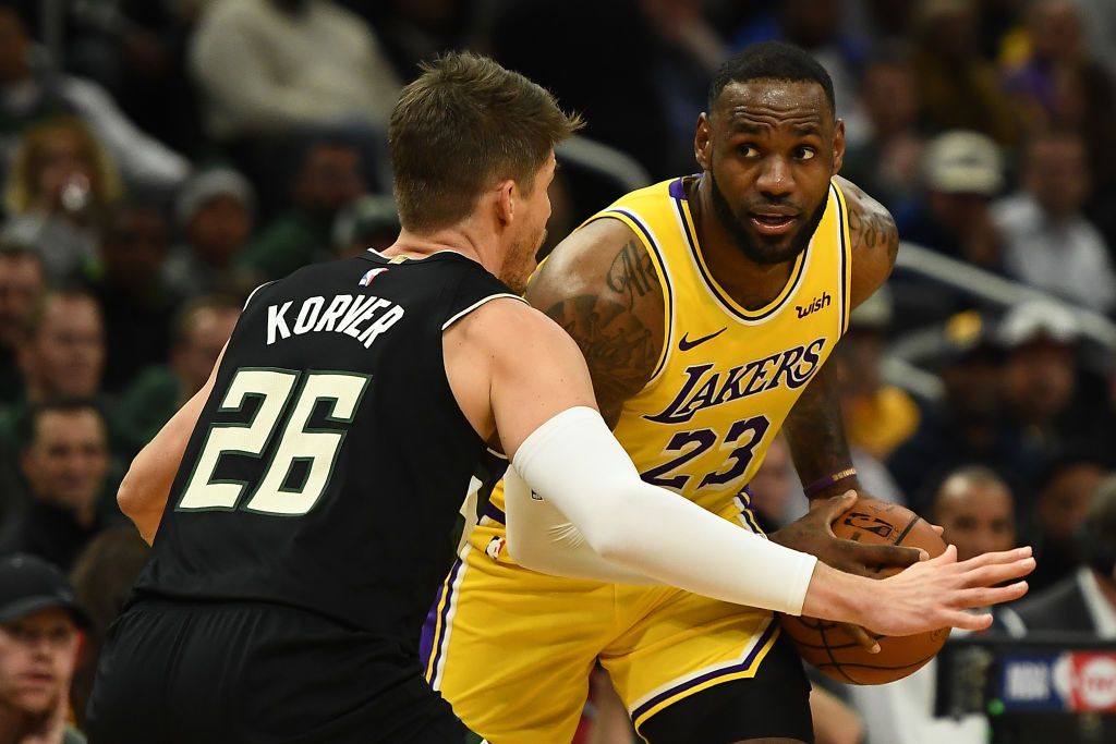 Chris Broussard walked back his comments on LeBron James and the Lakers winning the NBA Finals this season -- sort of.