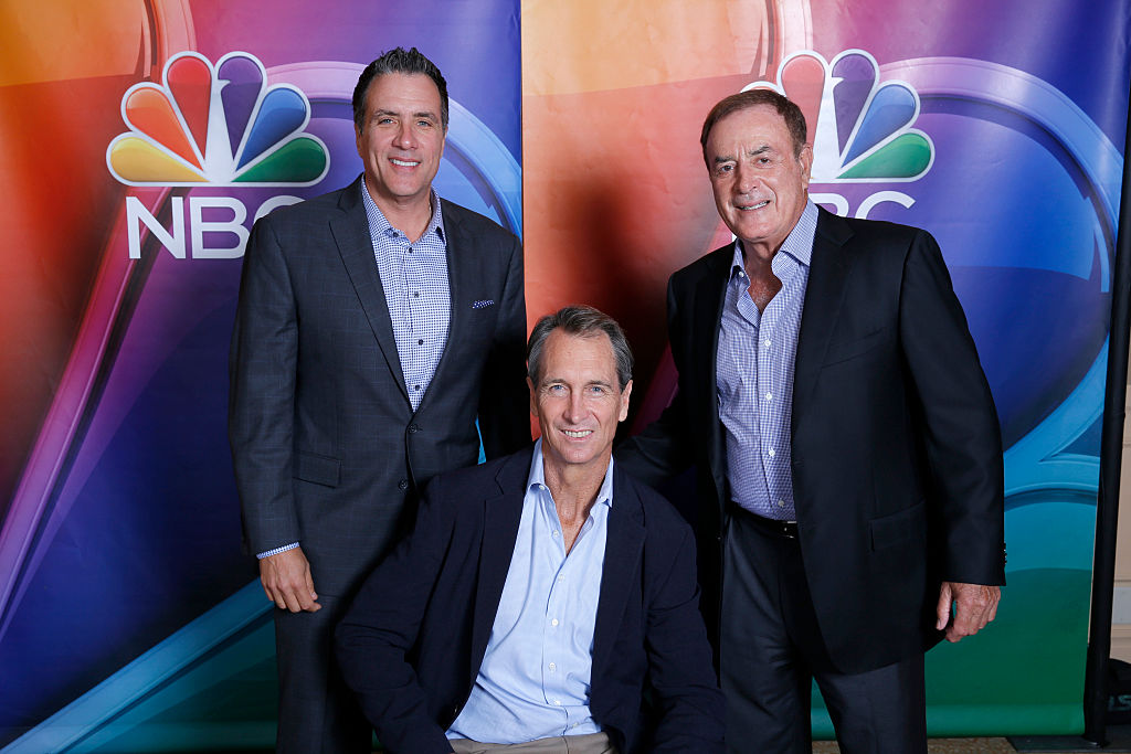 Cris Collinsworth owns Pro Football Focus in addition to working on Sunday Night Football.