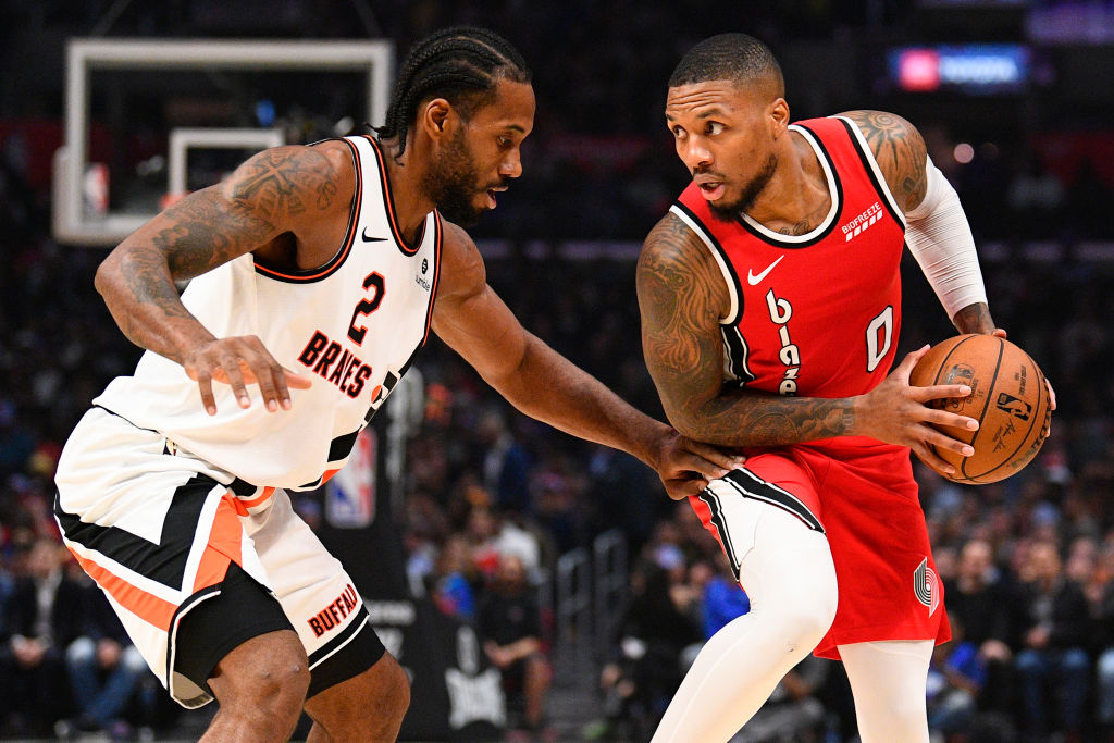 Color Damian Lillard impressed by one strength Kawhi Leonard and the Clippers have that few teams possess.