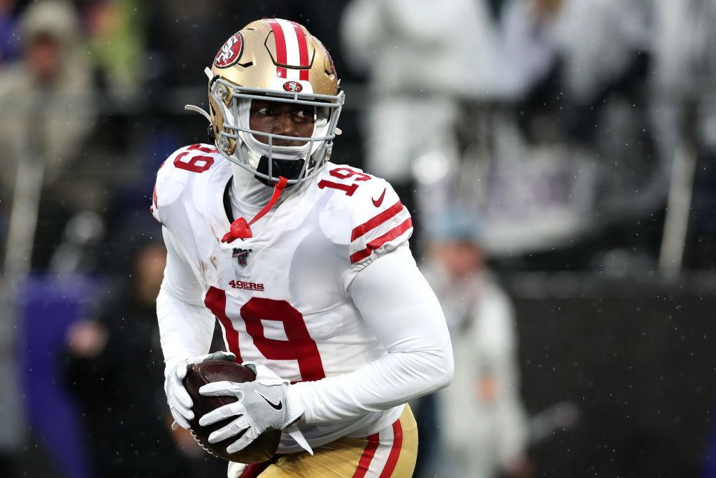 49ers wide receiver Deebo Samuel
