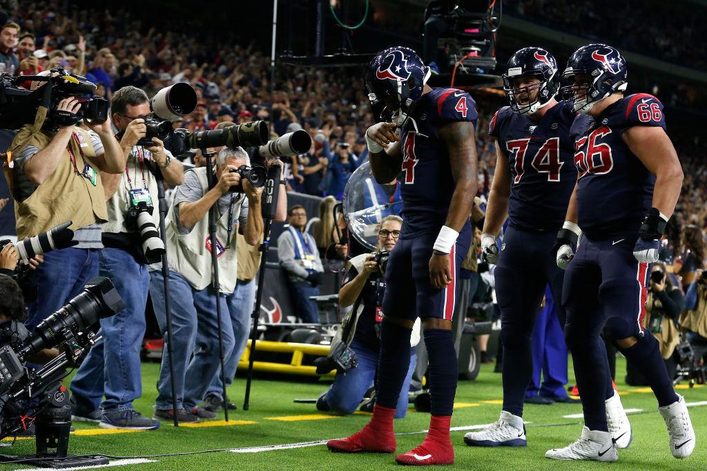 Texans quarterback Deshaun Watson
