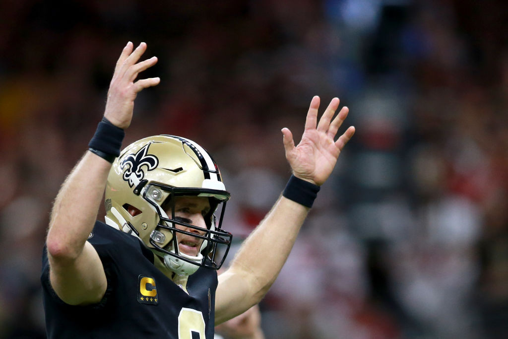 Drew Brees already has several NFL records to his name, and the Saints' QB is closing in on another one.