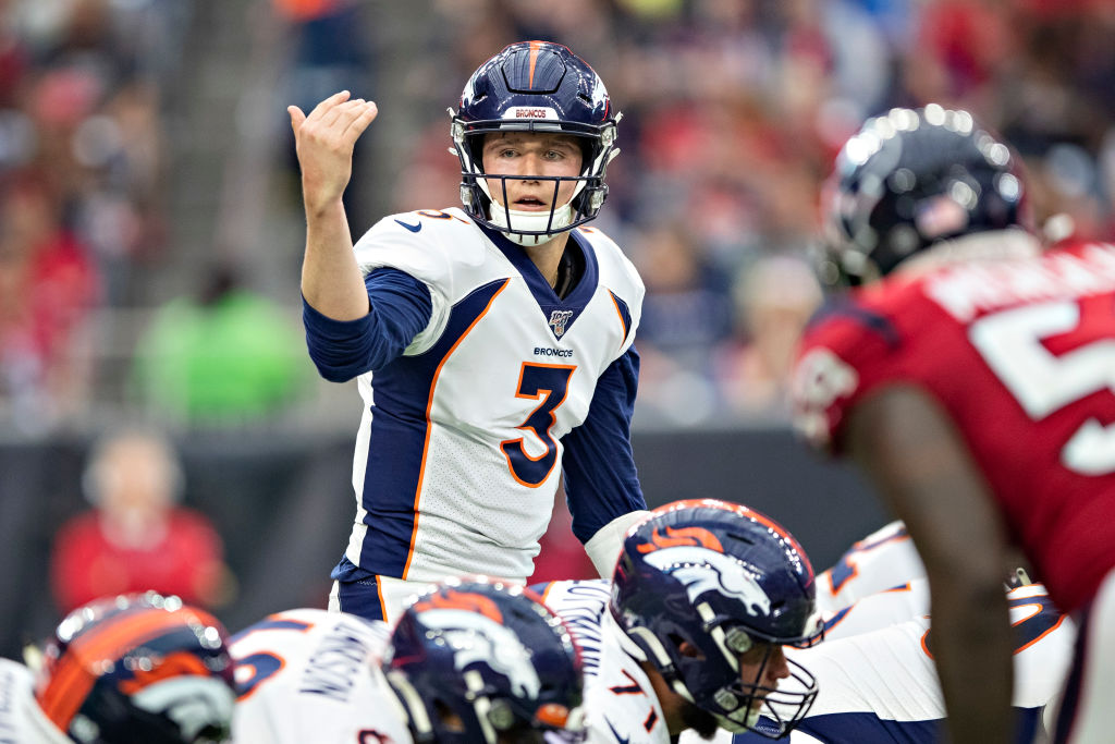 Drew Lock won his first two games as an NFL starter, but that didn't impress one key person -- Denver head coach Vic Fangio.
