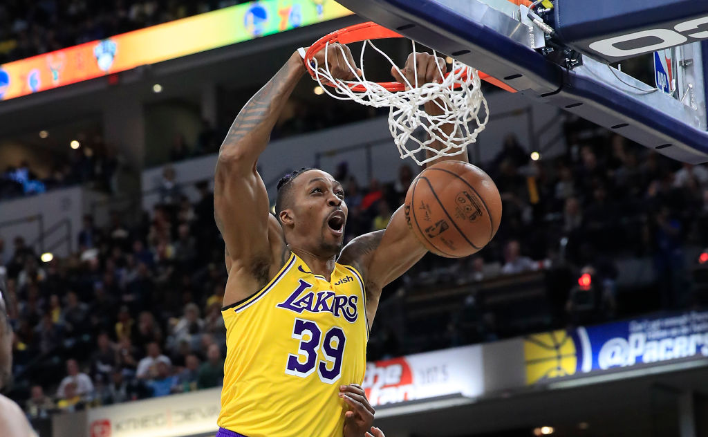 Dwight Howard signed a non-guaranteed contract with the Lakers, so he's making Cameo videos to earn some extra money.