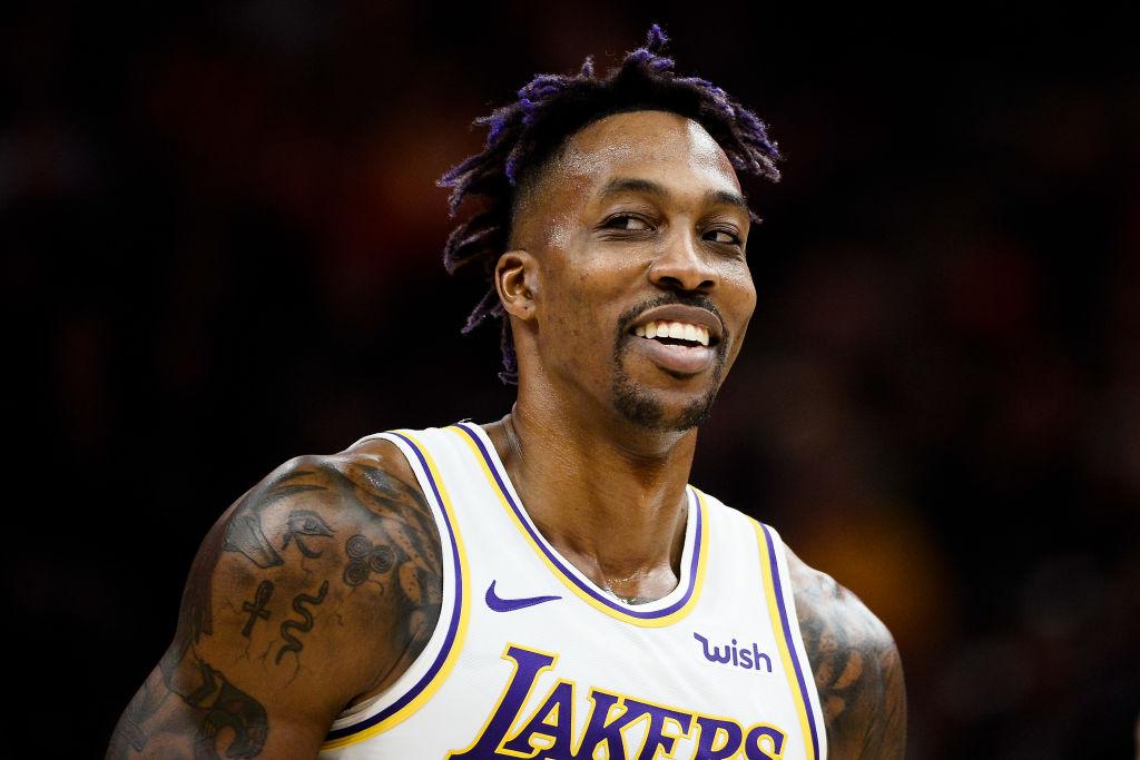 Lakers center Dwight Howard